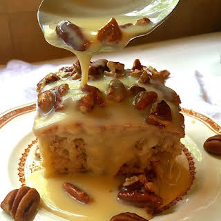 Southern Pecan Praline Cake.