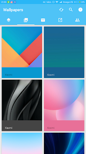 MIUI 9 Icon Pack & Wallpapers Screenshot