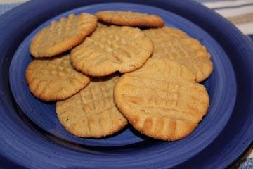 Ice Box Peanut Butter Shortbread Cookies Recipe