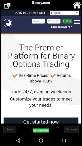 Binary options alternatives