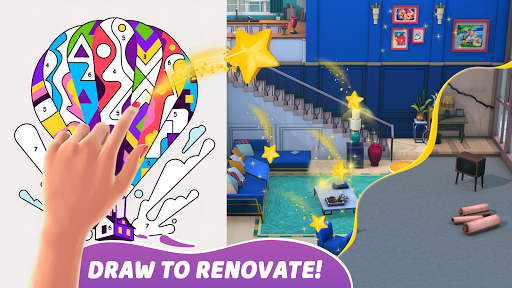 Gallery: Coloring Book by Number & Home Decor Game  screenshots 2