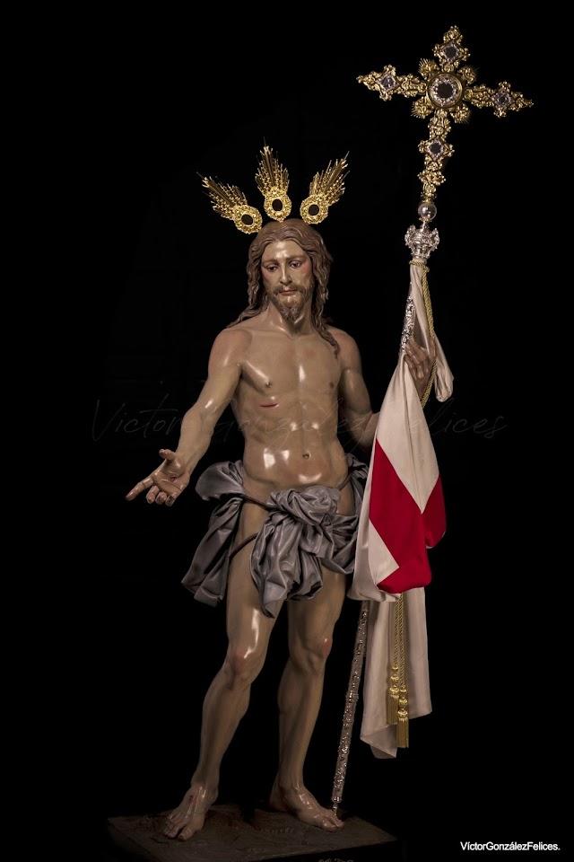 La nueva imagen de Jesús Resucitado, Señor de la Vida, de José María Leal.