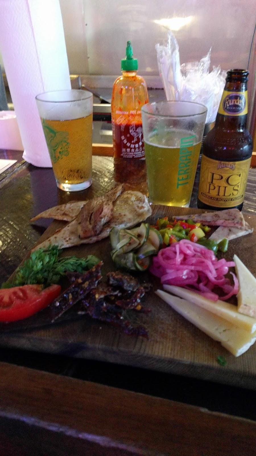 Neon Pig Cafe - Butcher Board