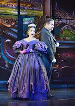 "Photo: MUSICAL ""ELISABETH"" im Wiener Raimundtheater. Premiere 5.9.2012. Inszenierung Harry Kupfer. Daniela Ziegler, Christian Peter Hauser. Foto: Barbara Zeininger"