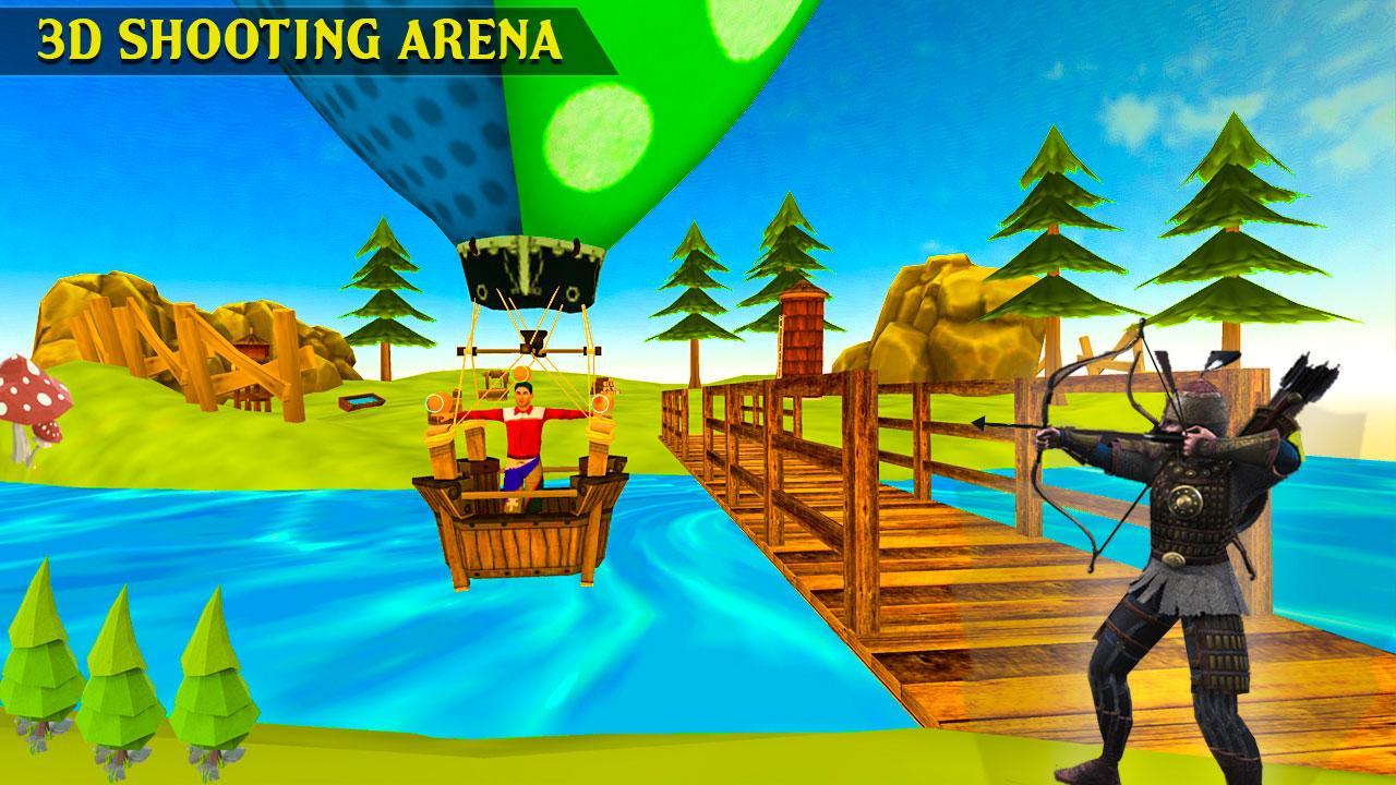 Fruit shooter games - Archer Fruit Shooting Screenshot