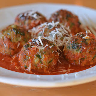 Turkey, Spinach & Cheese Meatballs.
