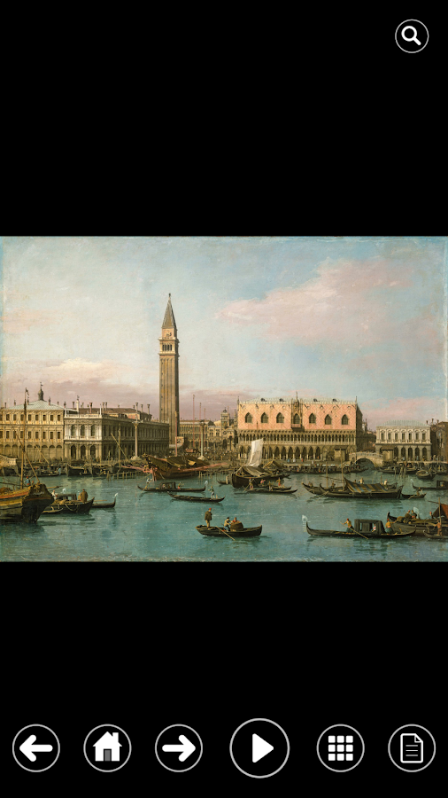 CANALETTO- screenshot