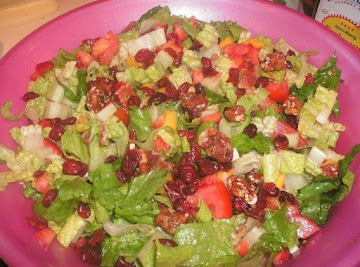 Bacon Romaine Salad W/ Lemon Dressing Recipe