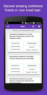 Conferencealerts India- screenshot thumbnail