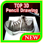 TOP 3D Pencil Drawing Icon