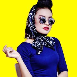 Dineke Nanda by Charles Mawa - People Fashion ( potrait, fashion, beautiful, photographer, retro, beauty, fashion photography, photo, women, photography, potraits,  )