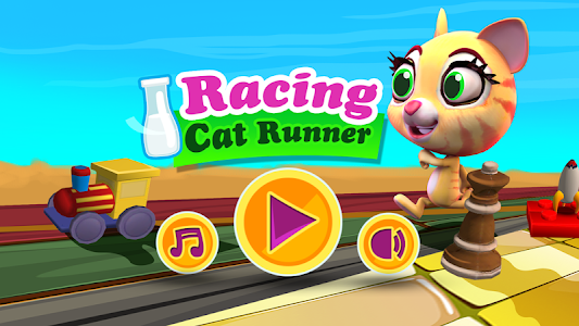 Racing Cat Runner: Speed Jam screenshot 0