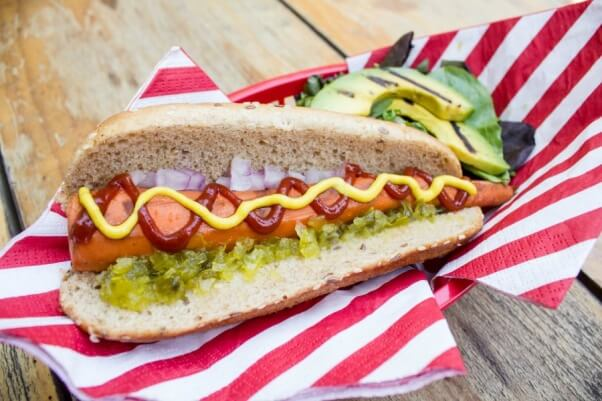 Vegan Carrot Hot Dog