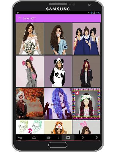 Girly m Wallpaper 2017 1.4 screenshots 2