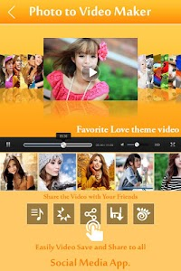 Photo Video Maker with Music screenshot 0