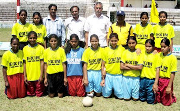 "Photo: Panchagarh Woman Handball Team, The 2009 champion of ""K"" zone in Bangladesh. [Photo Daily Sangram]"