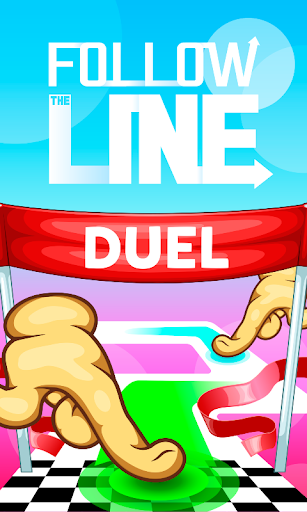 Follow the Line Duel 2D Deluxe