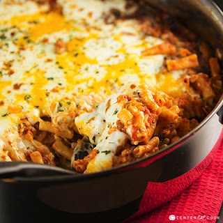 Baked Ziti With Cheddar Cheese Recipes