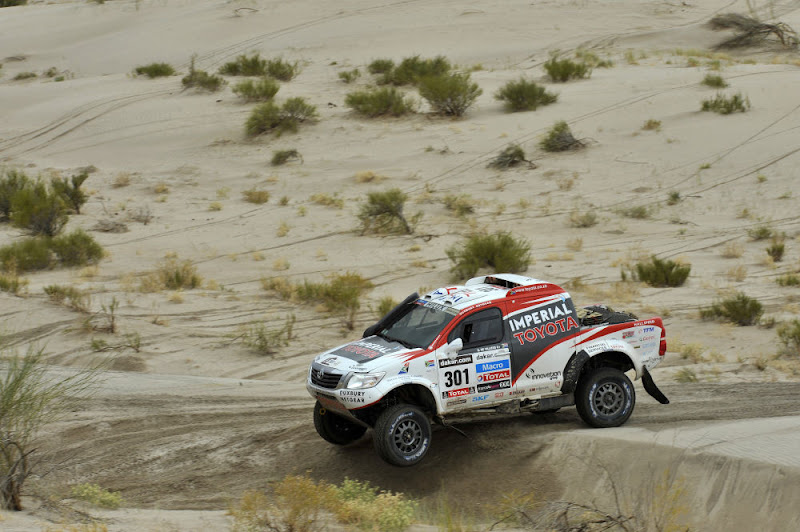 Photo: MOTORSPORT - DAKAR PERU CHILE ARGENTINA  2013 - STAGE 11 / ETAPE 11 - LA RIOJA (ARG) TO FIAMBALA (ARG) - 16/01/2013 - PHOTO : ERIC VARGIOLU / DPPI - .