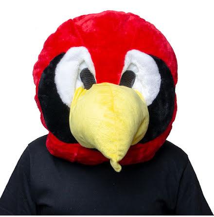 Maskothuvud, papegoja