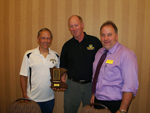 Photo: Program Excellence winners from Andover Senior ~ Mike Hecker, Dale Johnson, Frank Kratochvill (not pictured)