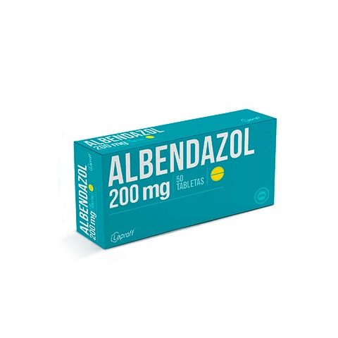 albendazol 200mg blister 2tabletas laproff