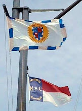 Photo: Flags on the Waterfront - Photo by Jimmy Piver