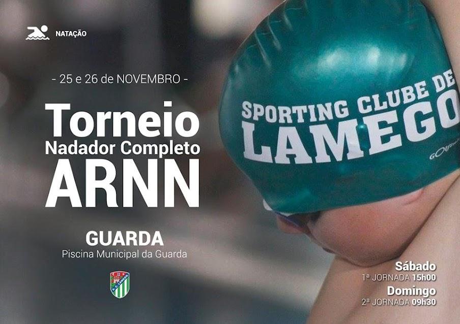 Sporting Clube de Lamego - Torneio do Nadador Completo da ARNN - 25 e 26 de novembro