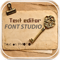 Font Studio Photo Texts Editor icon
