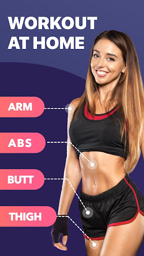 Lose Weight App for Women - Workout at Home 1.0.9 screenshots 1