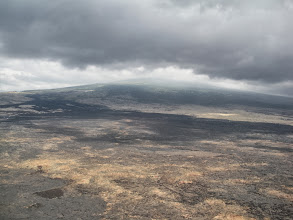 Photo: The Queen K is in the middle of the lava desert.  Not the vacationers' paradise