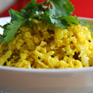 Cauliflower Pilau 'Rice' [Vegan, Gluten-Free]
