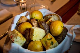 Photo: Rosemary focaccia, sourdough and rolls flavored with saffron and raisin at Public.