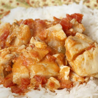 Spicy Slow Cooker Jamaican Coconut Fish Stew.