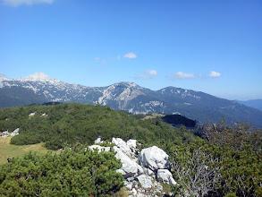 Photo: pogled na Veliku Zelenicu i Veliki vrh