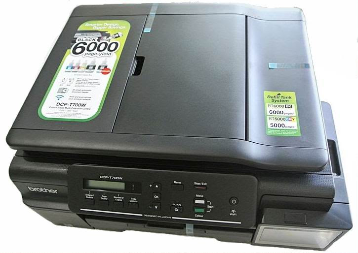 DCP-T700W BROTHER INKJET PRINTER