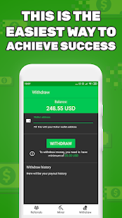 App Dollar Maker - Get Cash Passive Income APK for Windows Phone