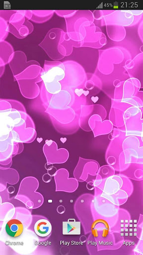 Download Love Heart Live Wallpaper for Pc