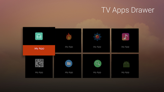 TV Apps Drawer 1