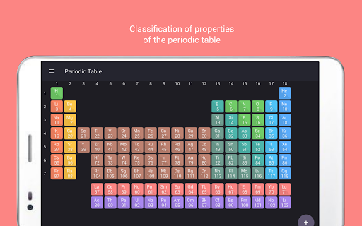 Periodic table tamode pro app for android periodic table tamode pro app for android screenshot urtaz Image collections
