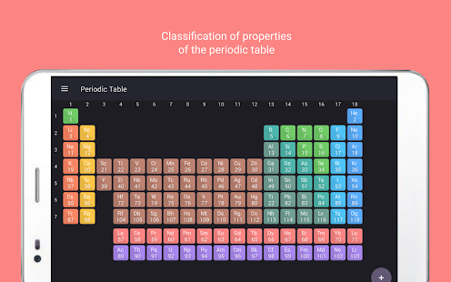 Periodic table tamode pro apps on google play screenshot image urtaz Choice Image