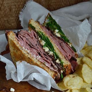 Deli Style Roast Beef Sandwich.