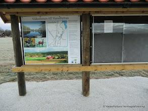 Photo: Mjölkpallen. Ny informationstavla blev uppsatt 2011