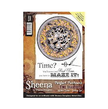 Sheena Douglass Time Traveller Stamp A6 - Make Time UTGÅENDE