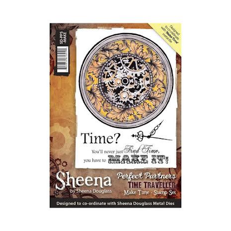 Sheena Douglass Time Traveller Stamp A6 - Make Time UTGÅENDE