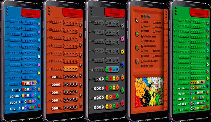 Mastermind Android App Screenshot