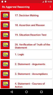 Rs Aggarwal Reasoning ( Verbal & Non Verbal) - náhled