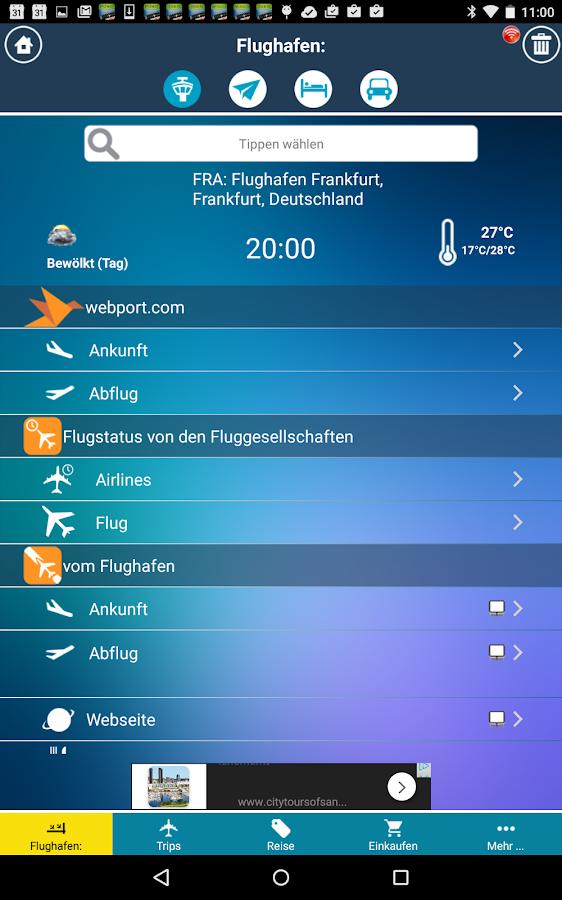 Flughafen Frankfurt München- screenshot