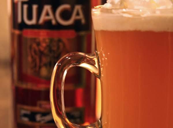 Tuaca Hot Apple Pie Drink