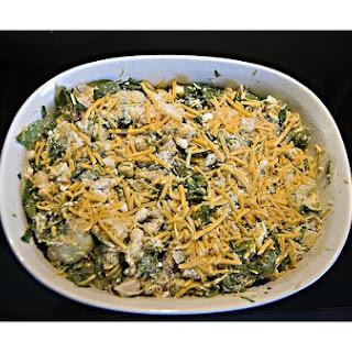 Spinach & Spaghetti Casserole